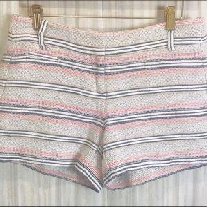 Ann Taylor Loft Shorts |  Tweed Look | Size Zero